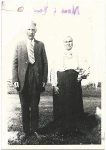 Nester Sawczuk and Odakiya Woroshuk (Sawchuk)
